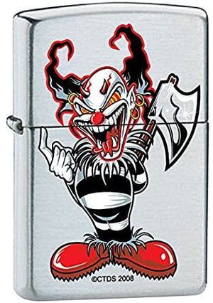 Zippo Lighter - Ax Clown
