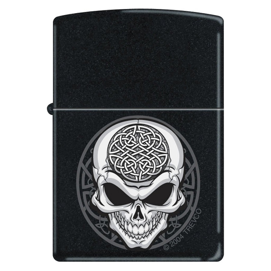 Zippo Lighter - Celtic Skull - Lighter USA