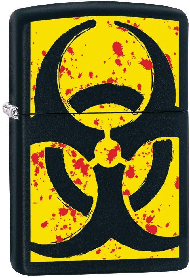 Zippo Lighter - Hazardous - Lighter USA
