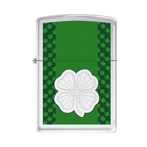 Zippo Lighter - Lucky Clovers - Lighter USA
