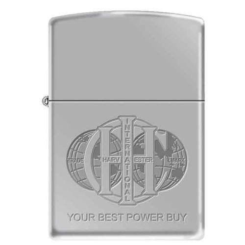 Zippo Lighter - IH Logo Your Best Power Buy High Polish Chrome - Lighter USA