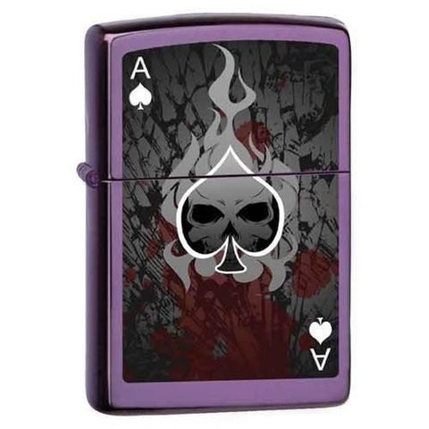 Zippo Lighter - Ace-Death - Lighter USA