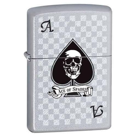 Zippo Lighter - Ace with Skull - Lighter USA