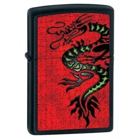Zippo Lighter - Dragon Black Matte - Lighter USA