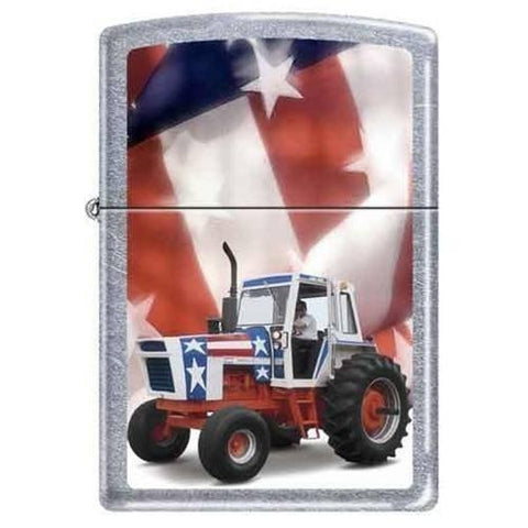 Zippo Lighter - Case IH America Street Chrome - Lighter USA
