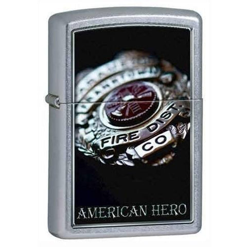 Zippo Lighter - American Hero Street Chrome - Lighter USA