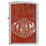 Zippo Lighter - International Harvester Satin Chrome - Lighter USA