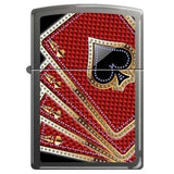 Zippo Lighter - Card Suits - Lighter USA