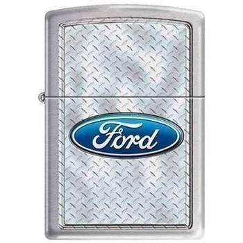 Zippo Lighter - Ford Diamondplate - Lighter USA