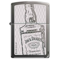 Zippo Lighter - Jack Daniel's Bottle Black Ice
