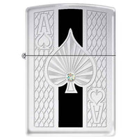 Zippo Lighter - Deep Pockets Heavy Walled Armor Crystallized - Lighter USA