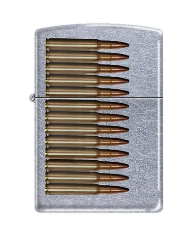 Zippo Lighter - Bullets Street Chrome - Lighter USA