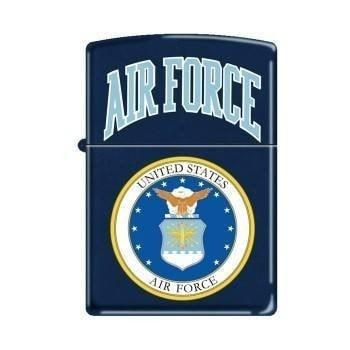 Zippo Lighter - Air Force Logo Navy Matte - Lighter USA