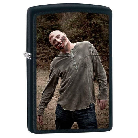 Zippo Lighter - Dead Man Walking Black Matte - Lighter USA