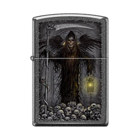 Zippo Lighter - Grim Reaper Ironstone - Lighter USA - 1