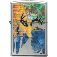 Zippo Lighter - Buck Fuzion Hi Polished Chrome - Lighter USA - 1
