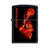 Zippo Lighter - Night Devil Black Matte Lighter Zippo - Lighter USA