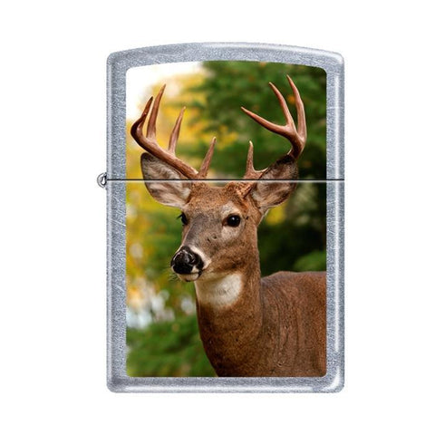 Zippo Lighter - Buck Street Chrome Lighter Zippo - Lighter USA