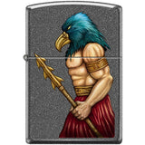 Zippo Lighter - Bird Man Iron Stone