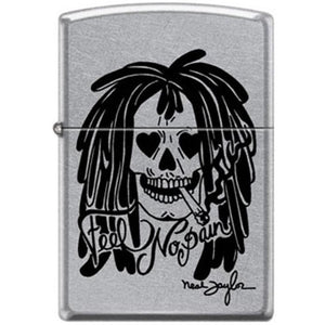 Zippo Lighter - Neal Taylor Feel No Pain Street Chrome