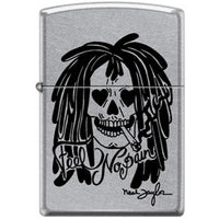Zippo Lighter - Neal Taylor Feel No Pain Street Chrome Lighter Zippo - Lighter USA