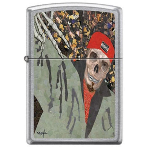 Zippo Lighter - Neal Taylor Thug Street Chrome - Lighter USA