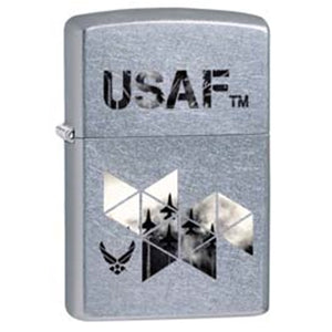 Zippo Lighter - USAF Jets Street Chrome