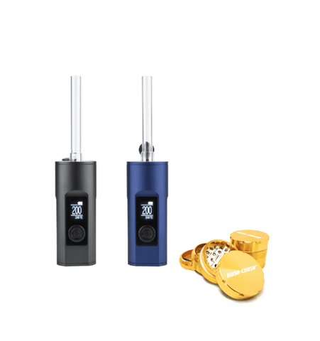 Arizer Solo 2 Vaporizer + Free Grinder + Free Overnight Shipping Vaporizers Arizer - Lighter USA