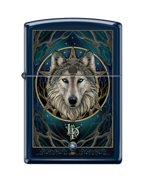 Zippo Lighter - Lisa Parker Wolf Design