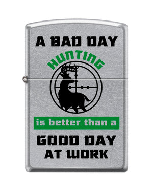 Zippo Lighter - Bad Day Hunting