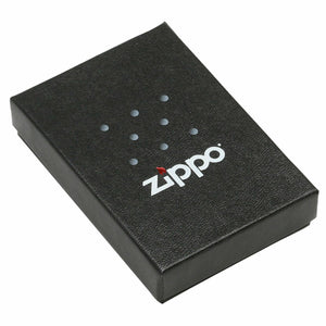 Zippo Lighter - Boombox Satin Chrome - Lighter USA