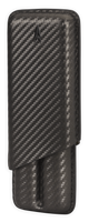 Lotus 2-Stick Cigar Cases Carbon Fiber