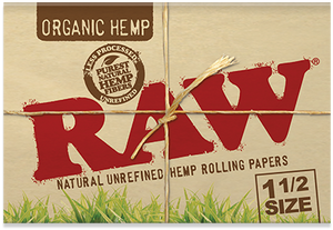 RAW Organic Rolling Papers - 1½