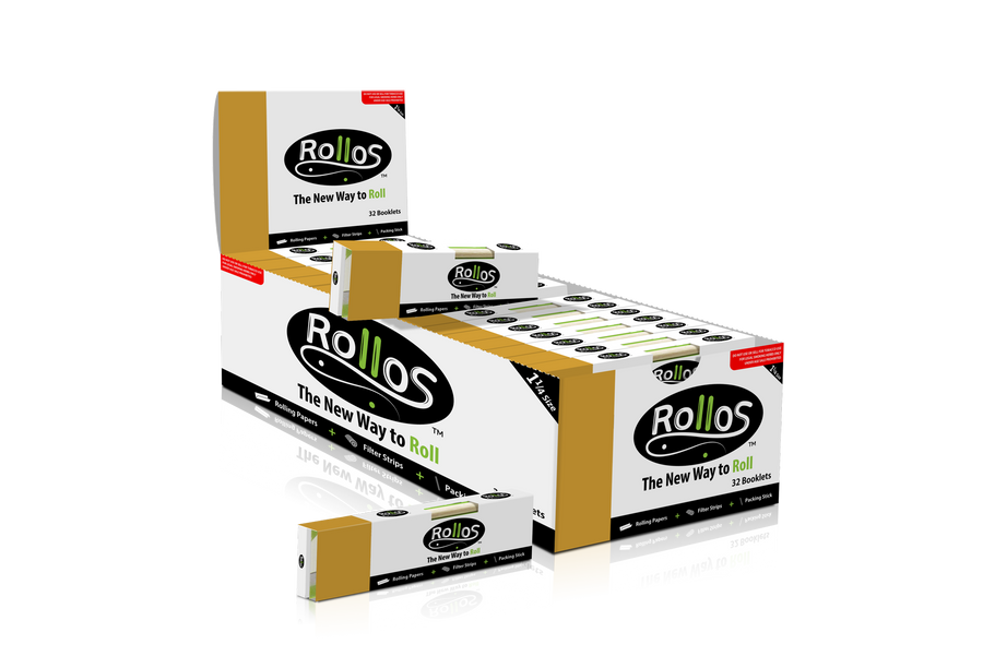 Rollos Rolling Paper Gold Edition (1-1/4)
