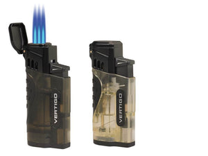 Vertigo Stinger Quad Torch Lighter w/ Cigar Punch