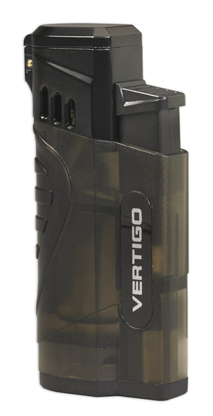 Vertigo Stinger Quad Torch Lighter w/ Cigar Punch - Lighter USA