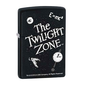 Zippo Lighter - The Twilight Zone Black Matte