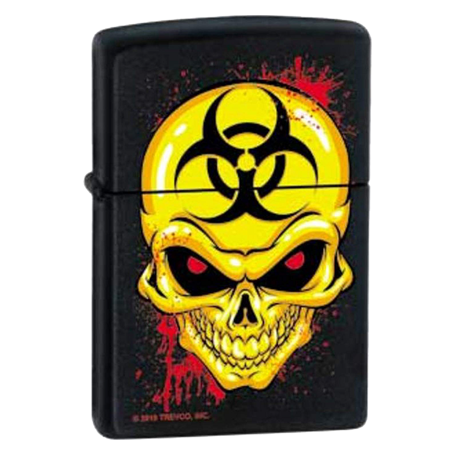 Zippo Lighter - Biohazard Skull - Lighter USA