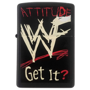 Zippo Lighter - Vintage WWF Attitude Get It