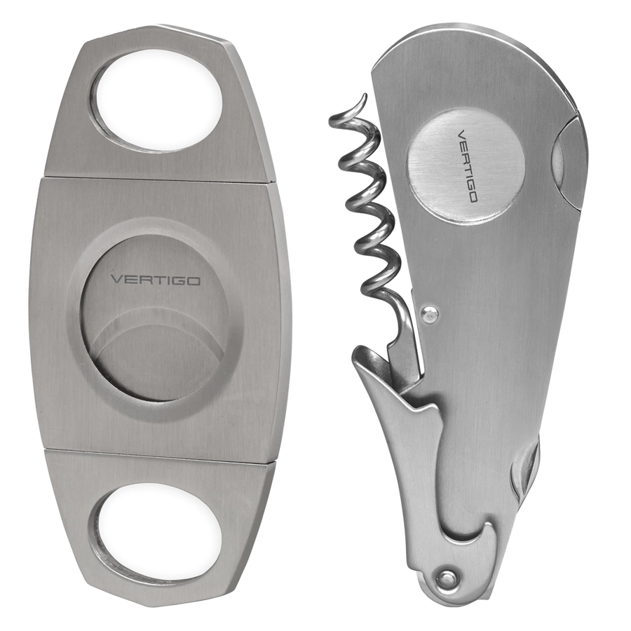 Vertigo Metal Cigar Cutters - Lighter USA