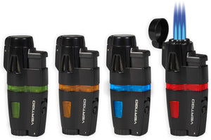 Vertigo Crusher Triple Torch Flame Lighter