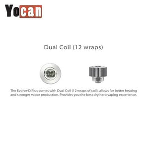 Yocan Evolve-D Plus Replacement Coils - Lighter USA