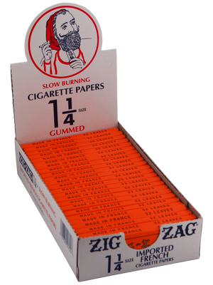 Zig Zag 1 1/4 Orange Rolling Papers Rolling Papers Zig Zag - Lighter USA