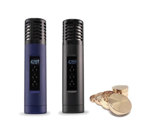 Arizer Air 2 Vaporizer + Free Hush Crush Grinder + Free Overnight Shipping
