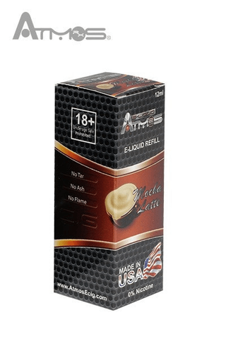 Atmos Mocha Latte Vape Juice Atmos - Lighter USA