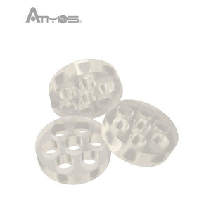 Atmos Raw Glass Screen Set - 3 Pack