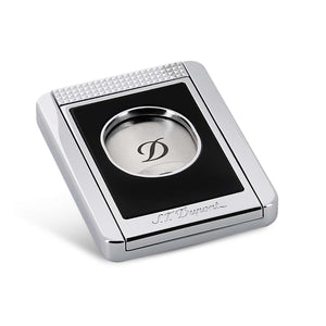 S.T. Dupont Cigar Cutter Stand - Black & Chrome