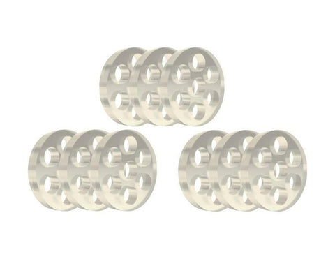 Atmos Raw Glass Screens - 9 Pack - Lighter USA
