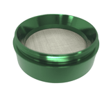 "Hush Crush 2"" 4-Piece Magnetized Herb Grinder - Dark Green - Lighter USA - 4"