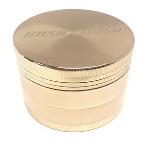 "Hush Crush 2"" 4-Piece Magnetized Grinder - Rose Gold (Special Edition) - Lighter USA"